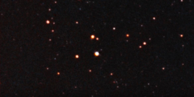 Hubble telescope footage of AR Scorpii.