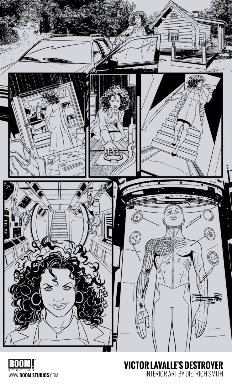 Destroyer victor lavalles comic tells the story of the last zoom in ccuart Gallery