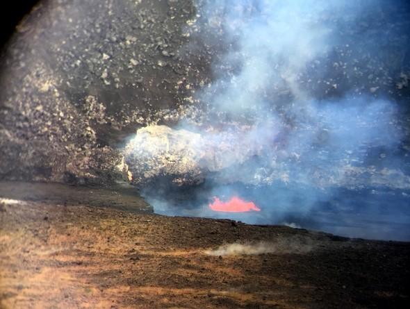Halema'uma'u lava pool