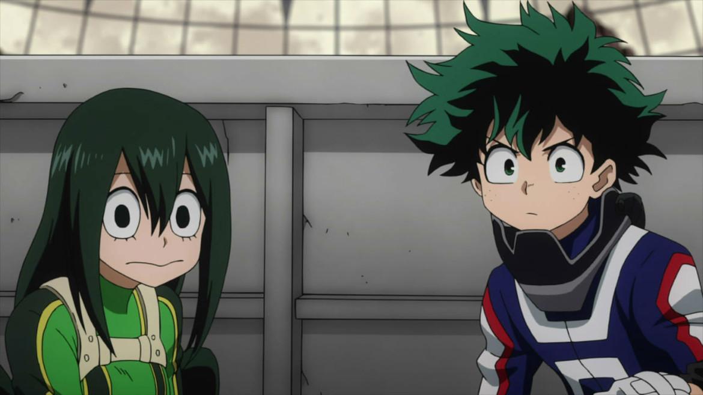 My Hero Academia - Tsuyu Asui & Izuku Midoriya