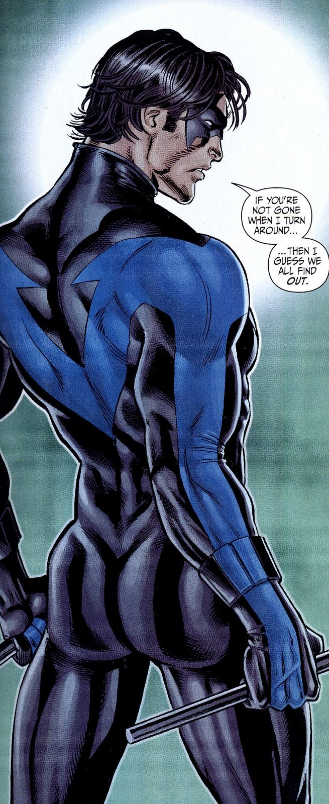 Chosen One of the Day: Nightwing's beautiful backside