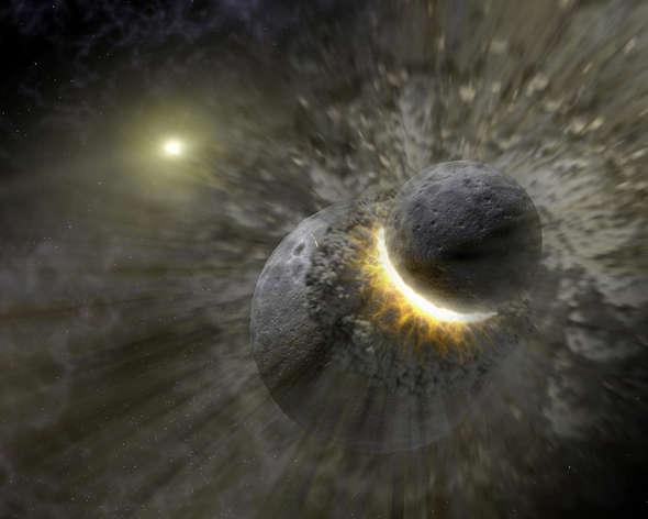 planetary impacts