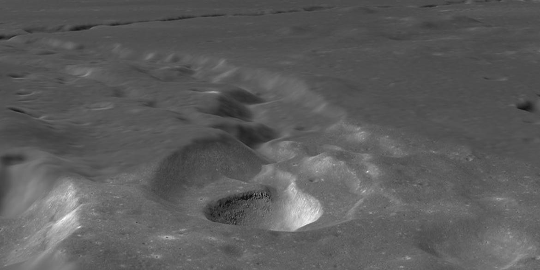 lunar volcanic channel Rima Prinz