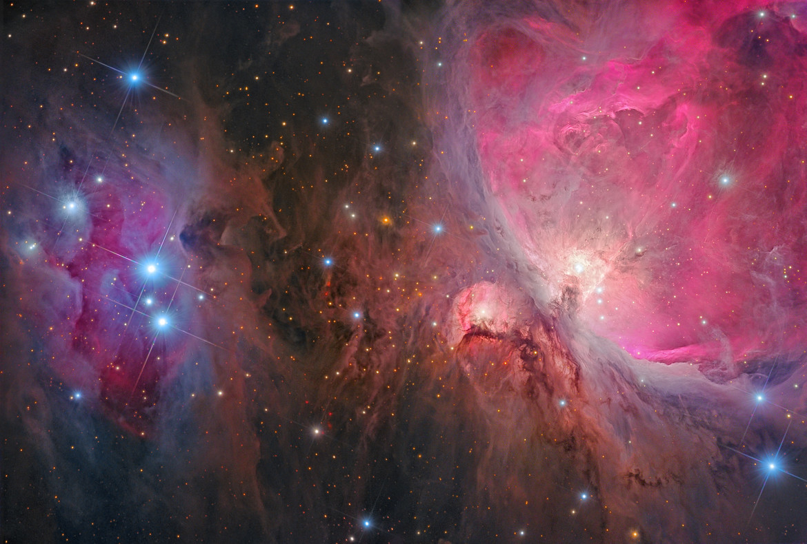 Orion Nebula by Rolf Olsen