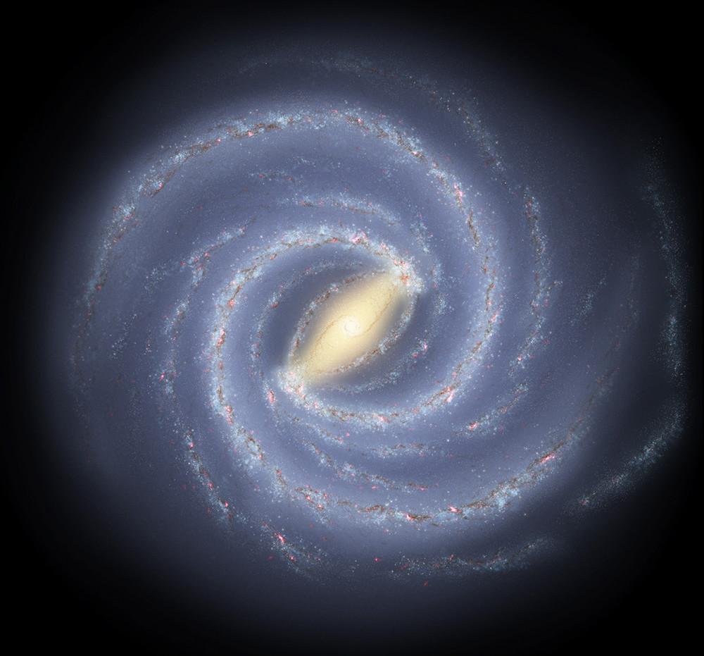 Milky Way map