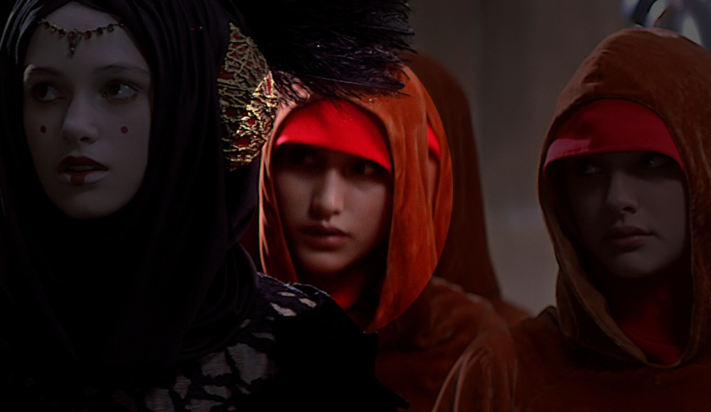 14. Sofia Coppola as Saché in The Phantom Menace.