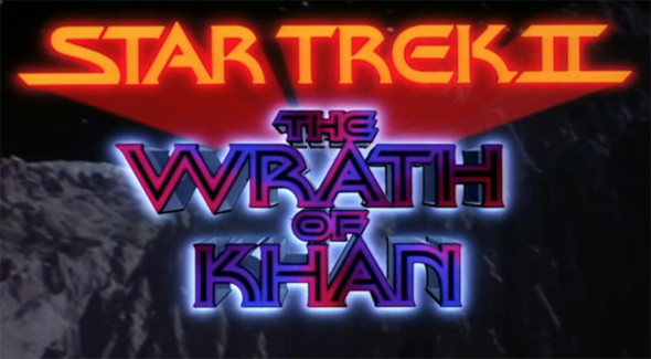 Wrath of Khan movie title