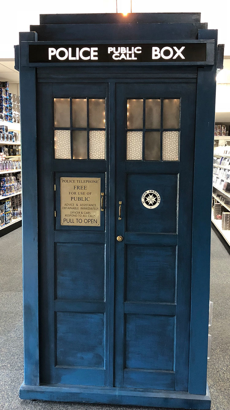 Geek Road Trip: Who North America TARDIS