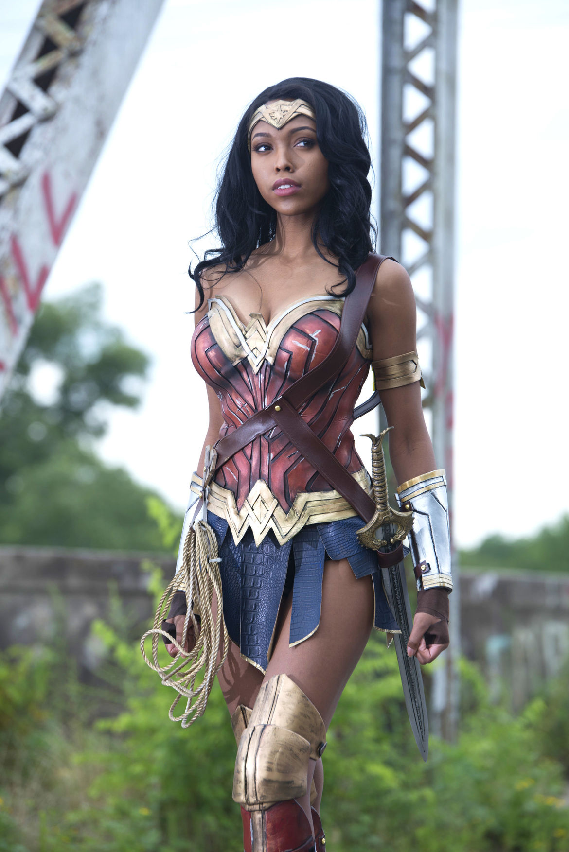 Wonder Woman cosplay Jasmine Mackey