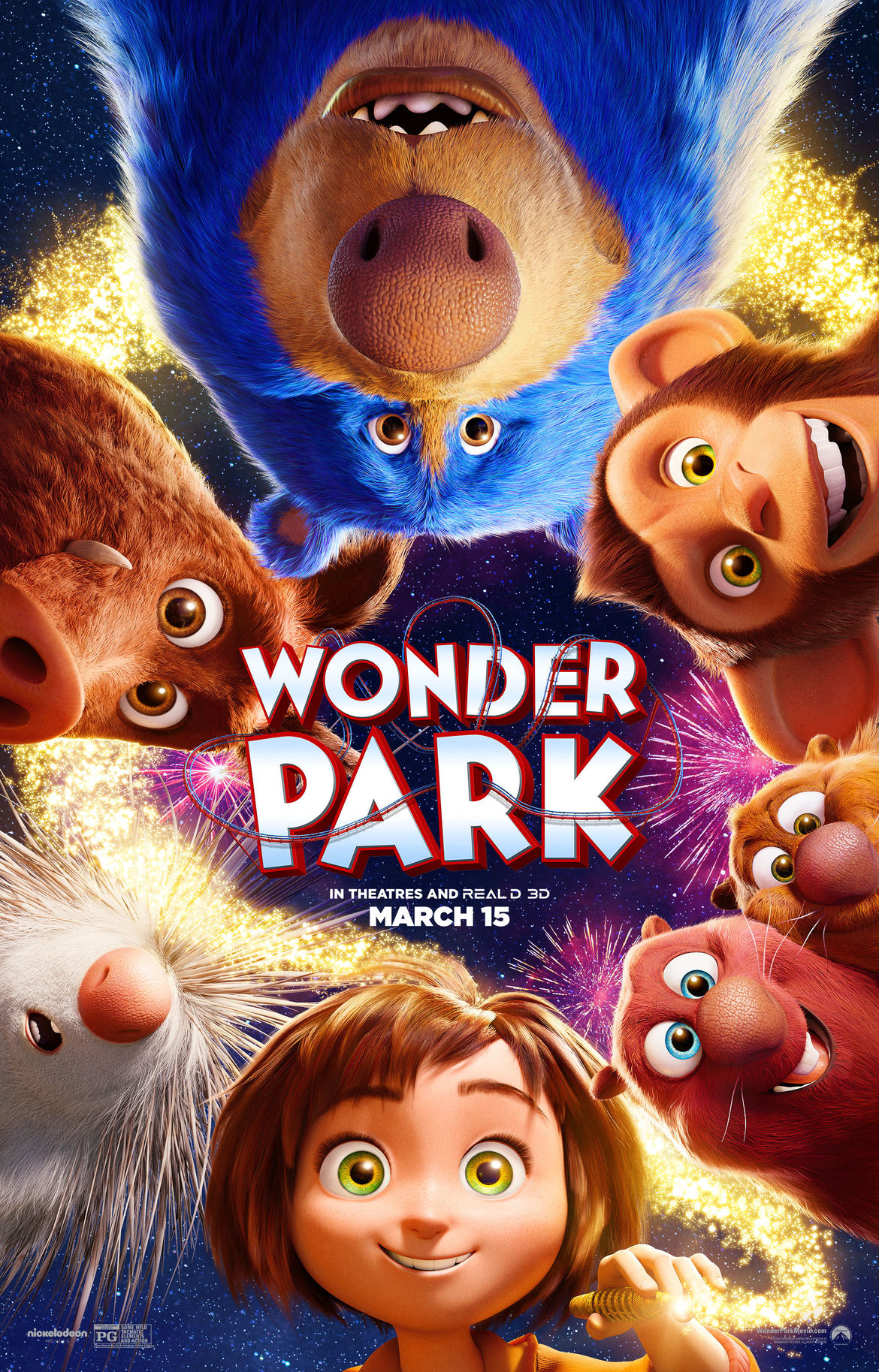 Wonder Park poster English
