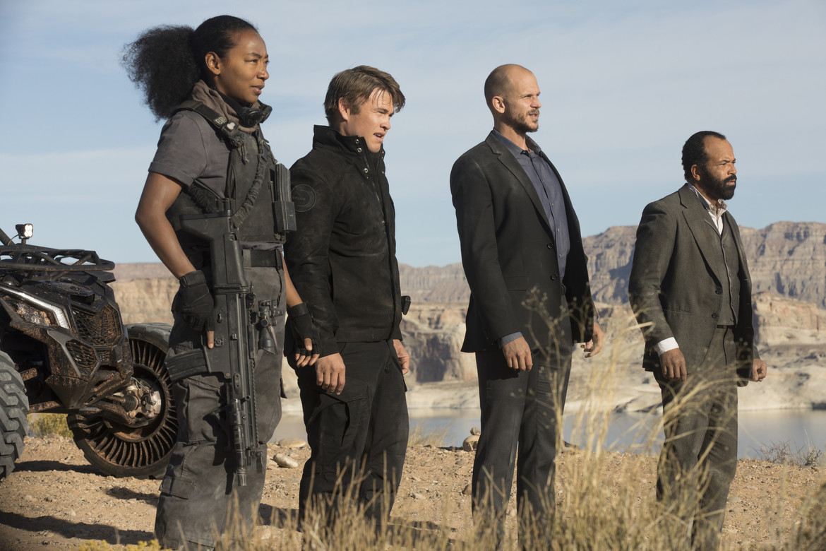 Westworld Gustaf Skarsgård, Jeffrey Wright, Luke Hemsworth, Betty Gabriel