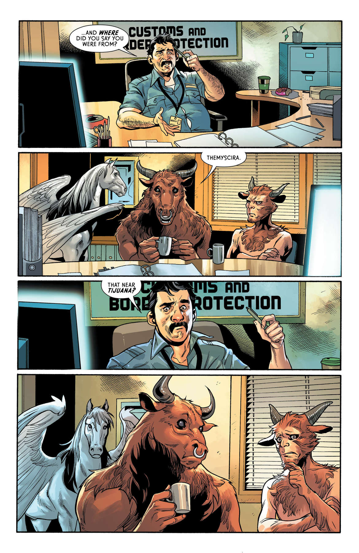 Wonder Woman #63 Page 1