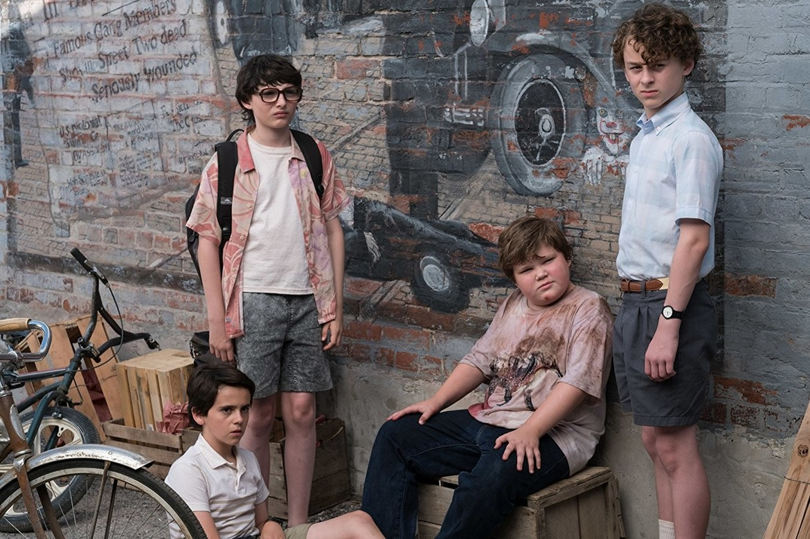 wyatt oleff, jeremy ray taylor, finn wolfhard, jack dylan, grazer in stephen king's It