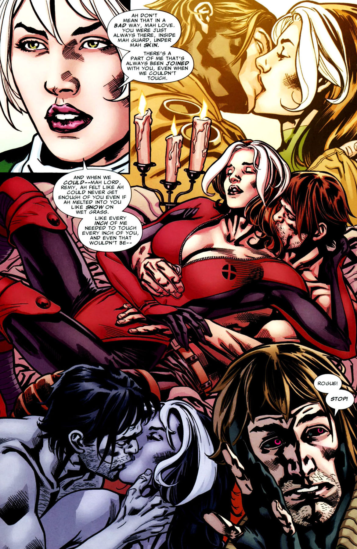 X-Men: Rogue and Gambit's greatest X-rated romantic moments | SYFY WIRE