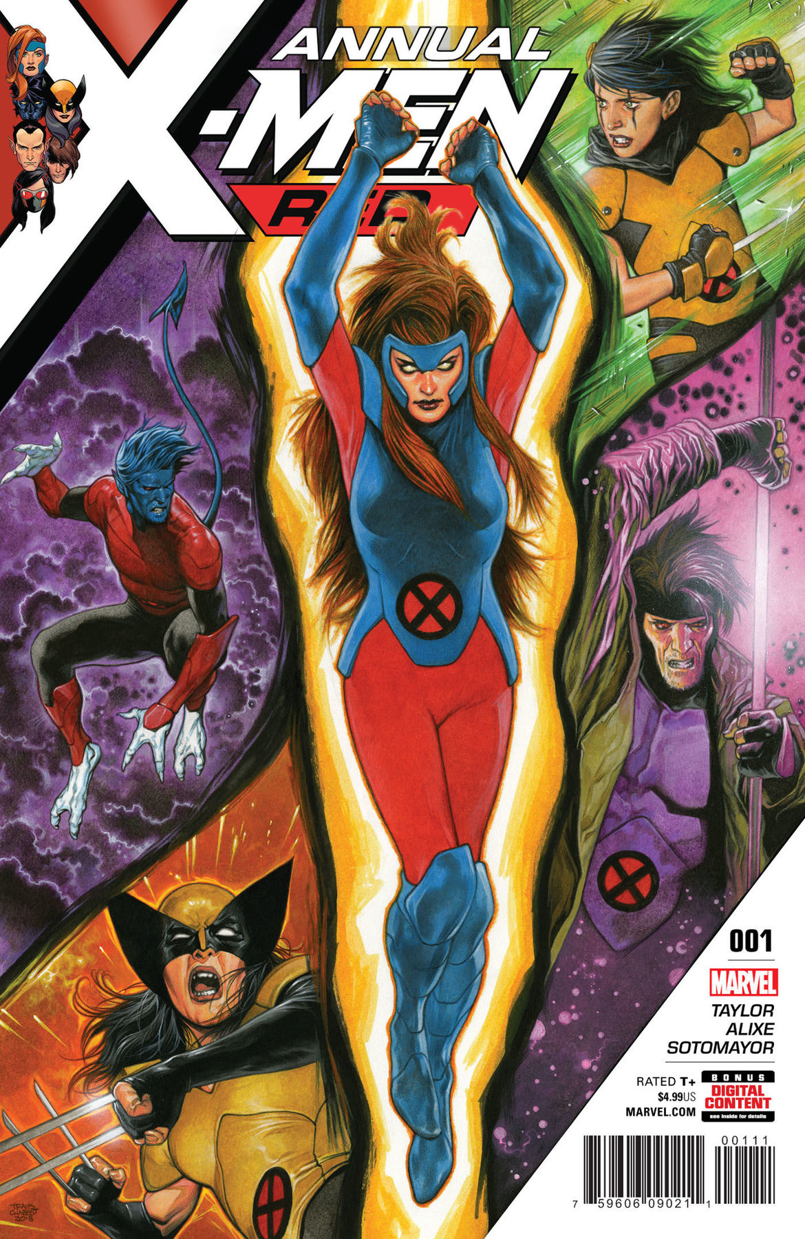 X-Men Red Annual 1 cover