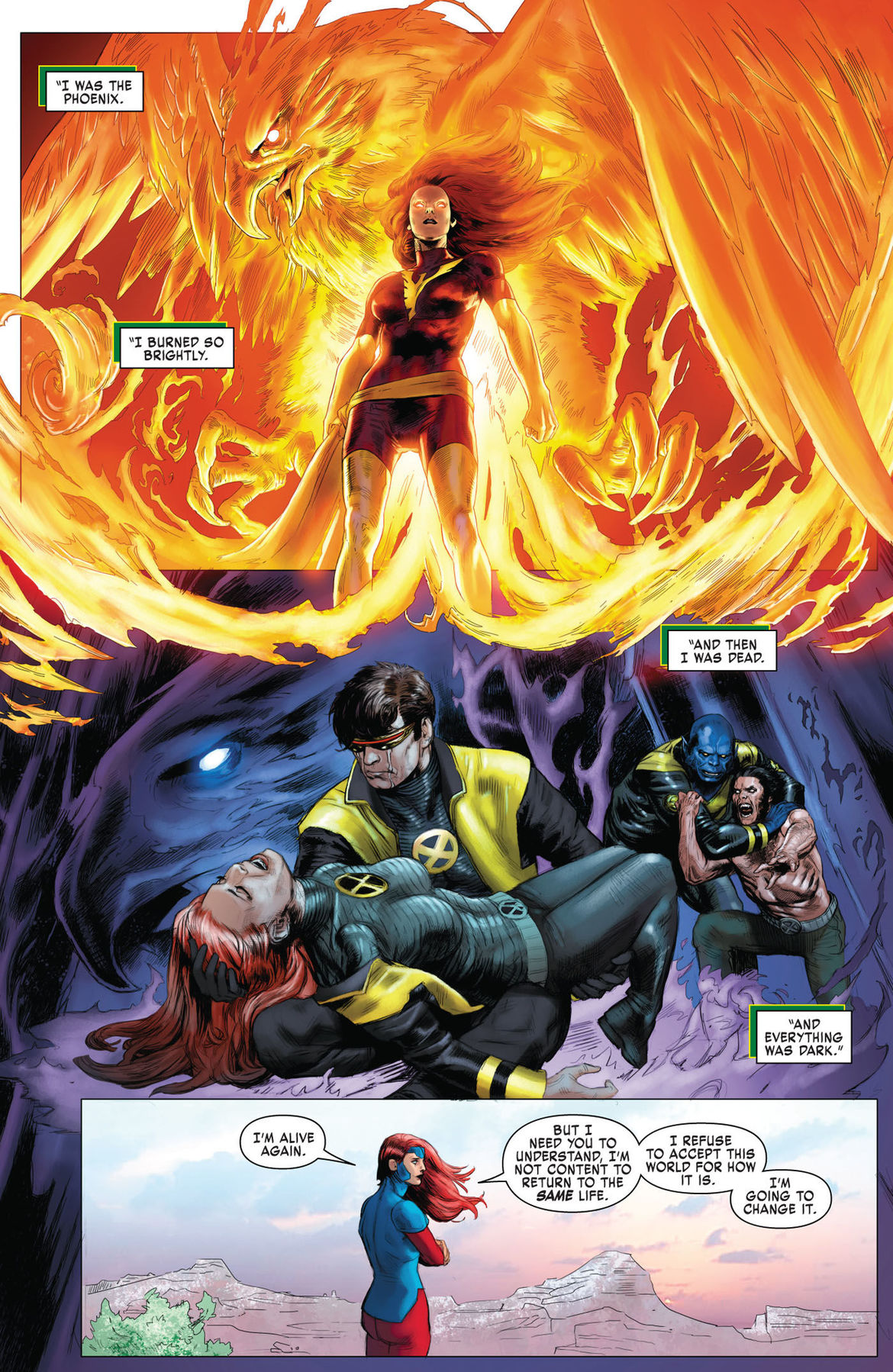 X-Men Red Annual 1 page 1