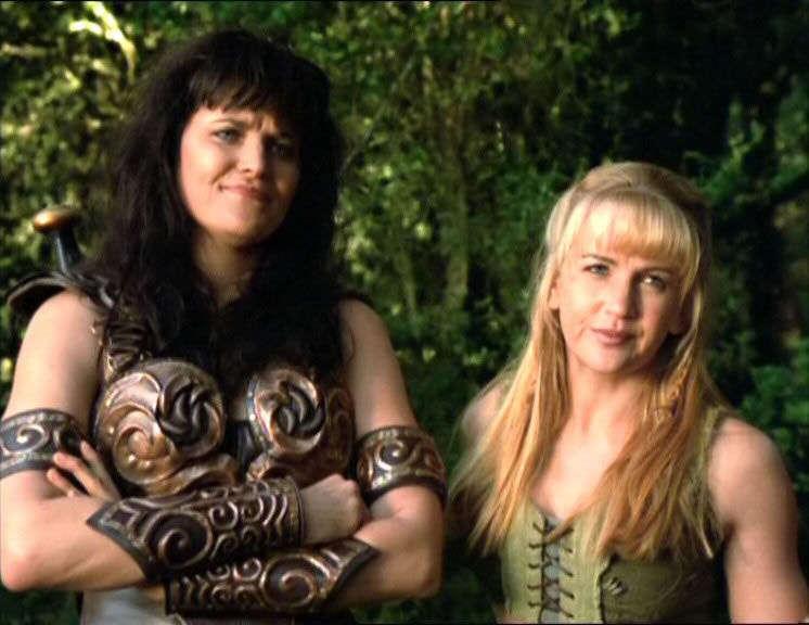 Xena 404, Xena and Gabrielle