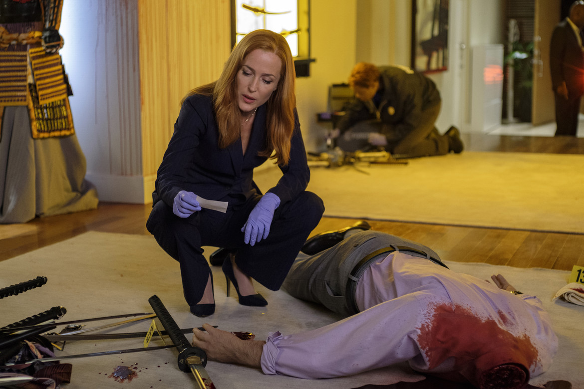 The X-Files episode 1103 Plus One - Scully over a dead body