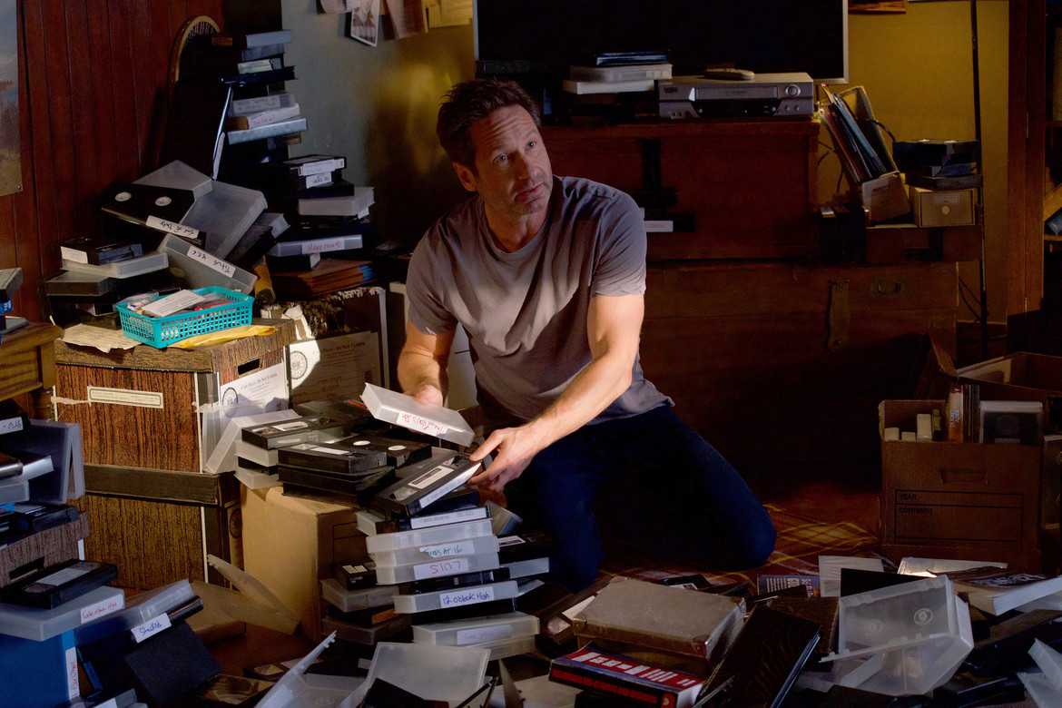 X-Files - The Lost Art of Forehead Sweat - Mulder searching videos