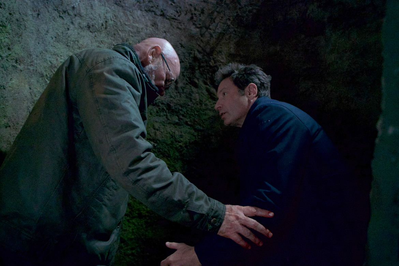 The X-Files episode 1106 Kitten - Skinner and Mulder