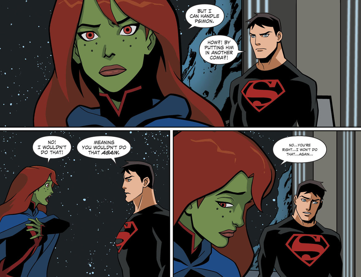 Young Justice: Outsiders comic page 2