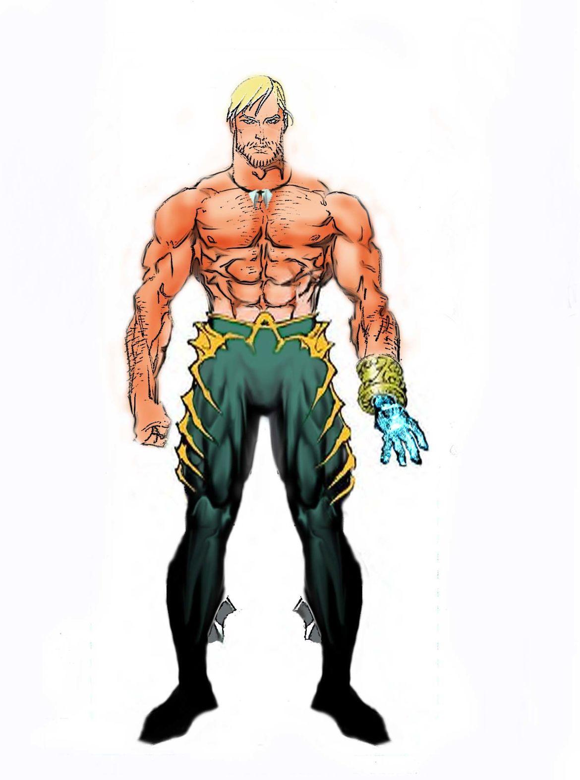 Yvel Guichet Aquaman