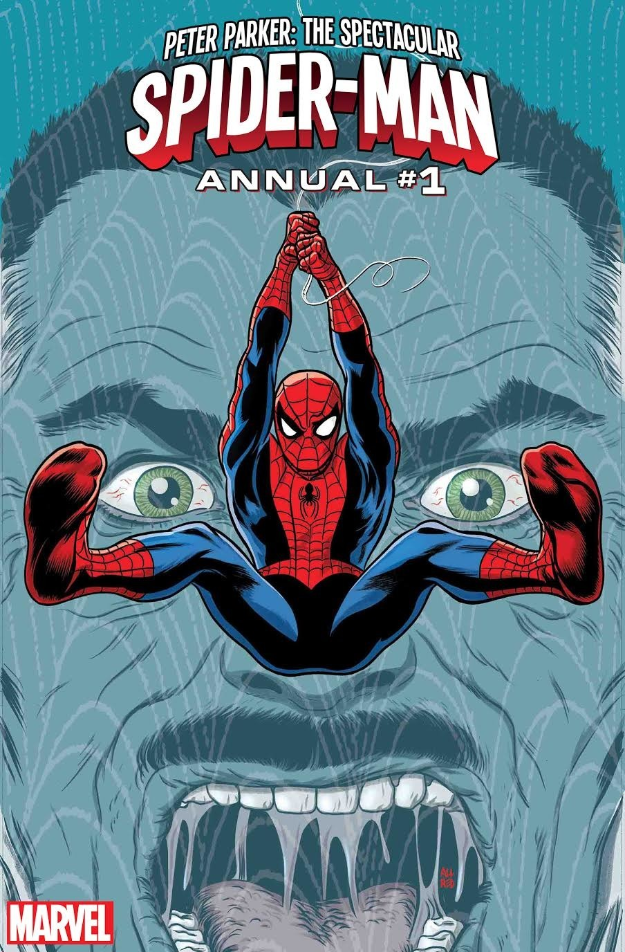 Chip Zdarsky for Marvel- Peter Parker: The Spectacular Spider-Man Annuel #1 Cover