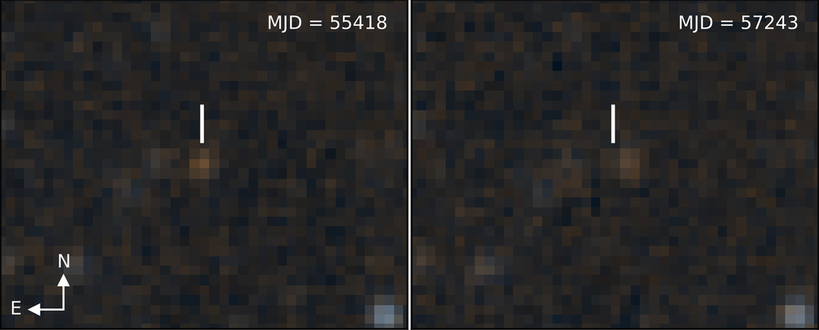 Brown dwarf before and after