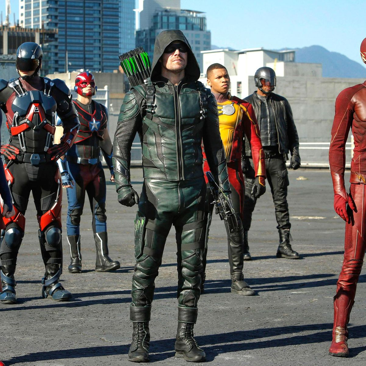 Syfy - Arrow and Flash fans: The CW joins Hulu\'s live streaming TV ...
