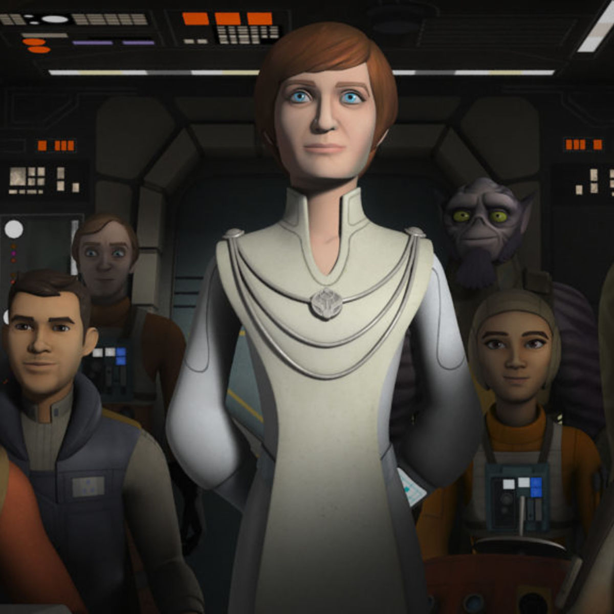 Syfy - Catch up on Star Wars Rebels Seasons 1-3 in preparation for ...