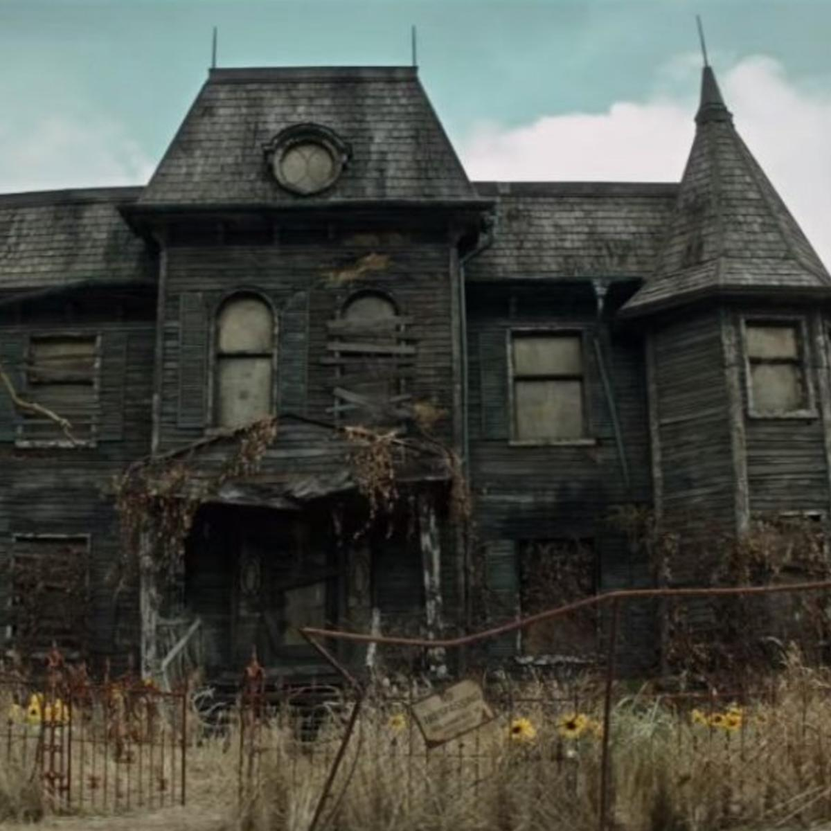 syfy the it house was actually a creepy haunted house irl too