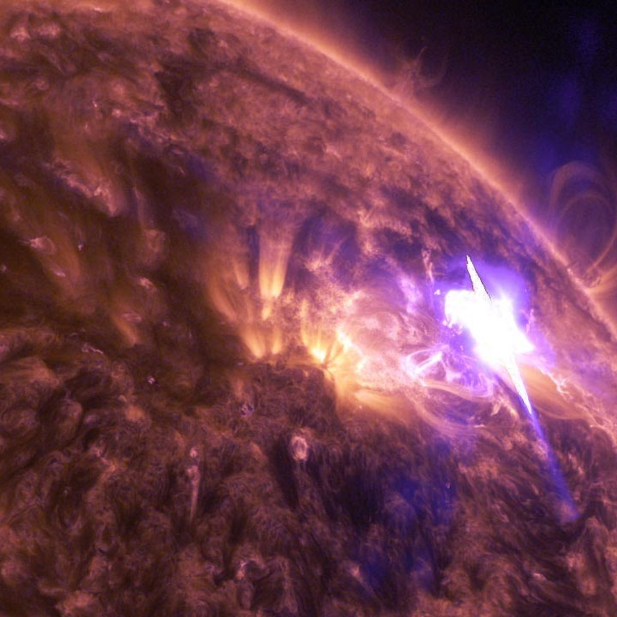 syfy you won t believe this insane solar flare syfy wire