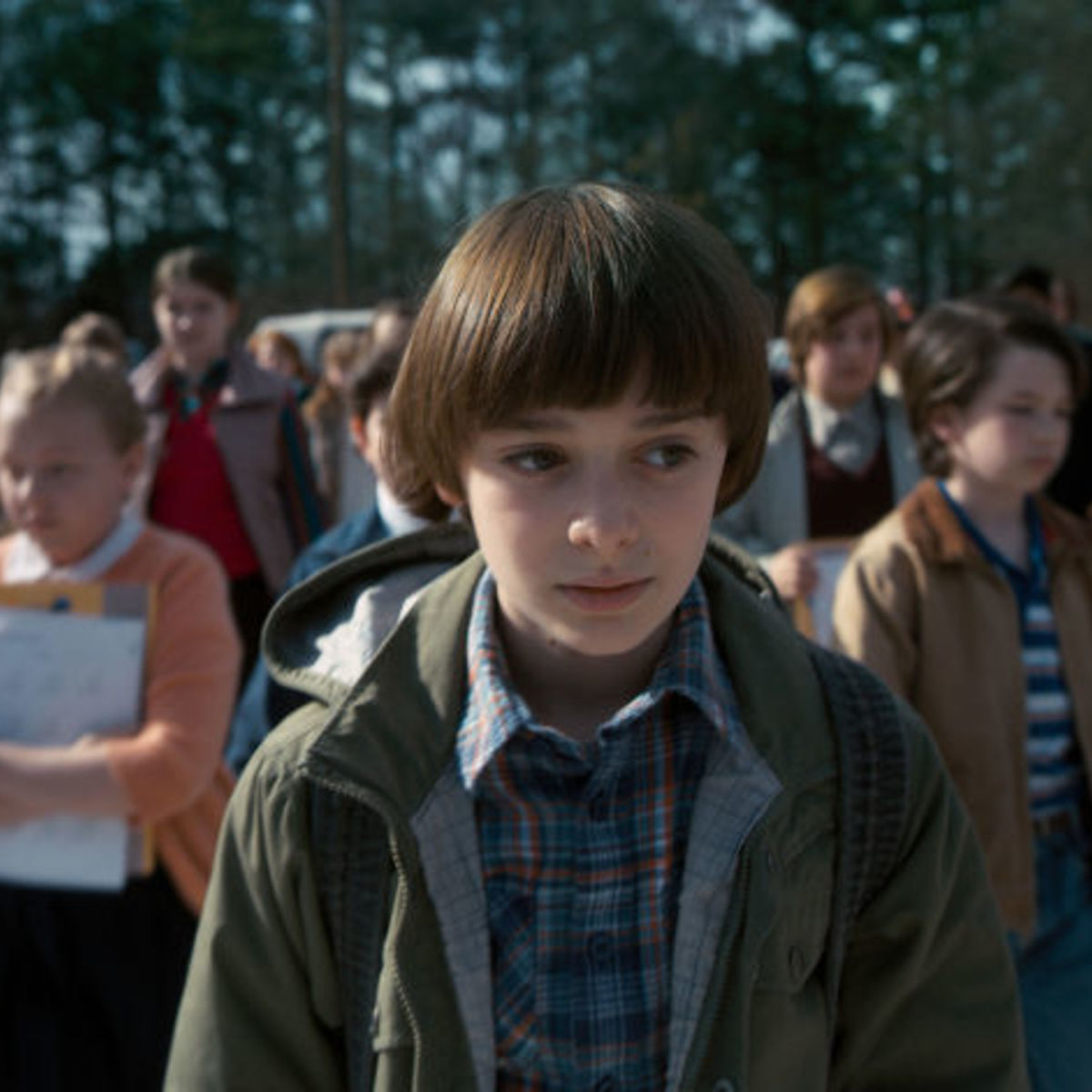 stranger things stars will be cursing a lot more in season 2 syfy wire