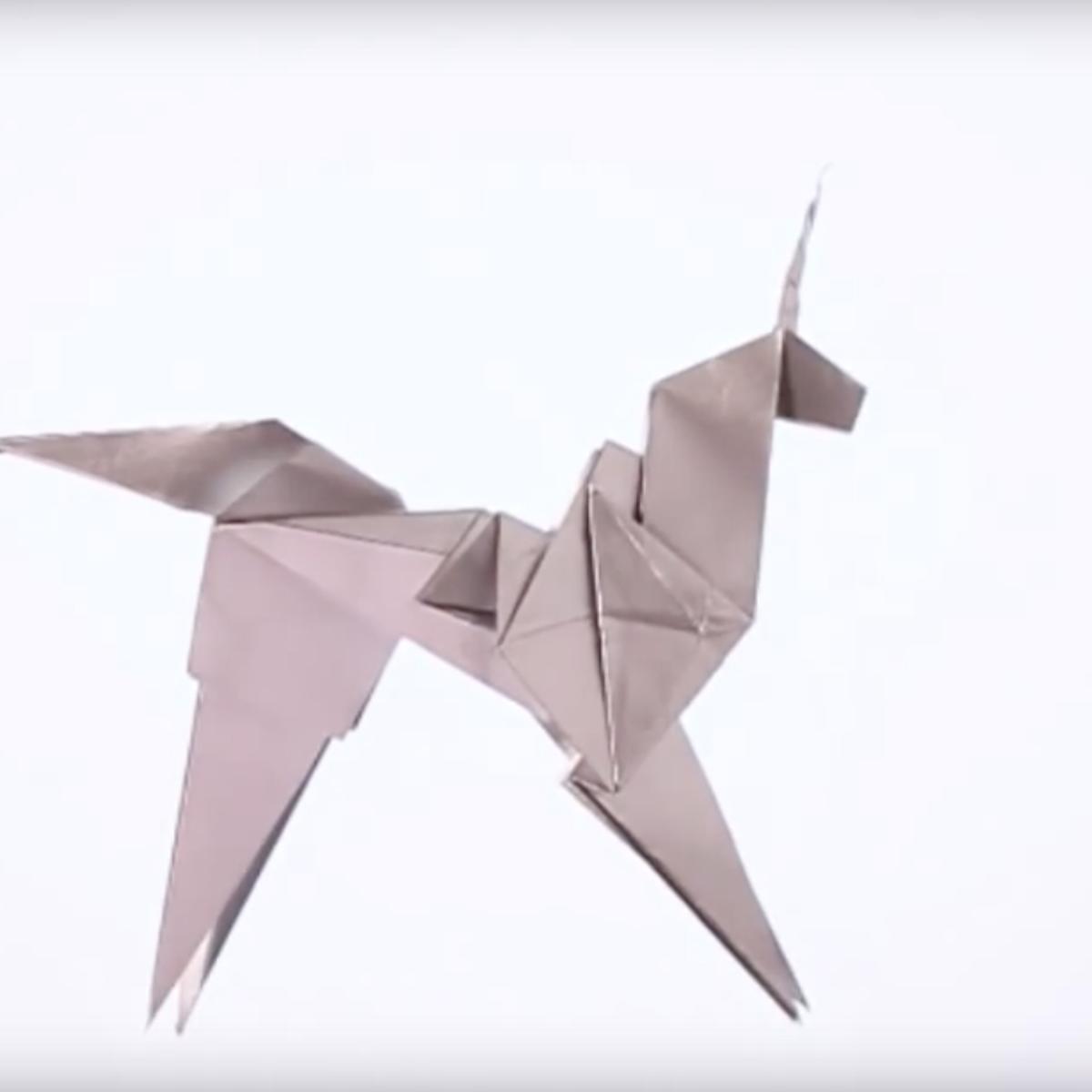 Stuff We Love Fold Your Own Blade Runner Origami Unicorn