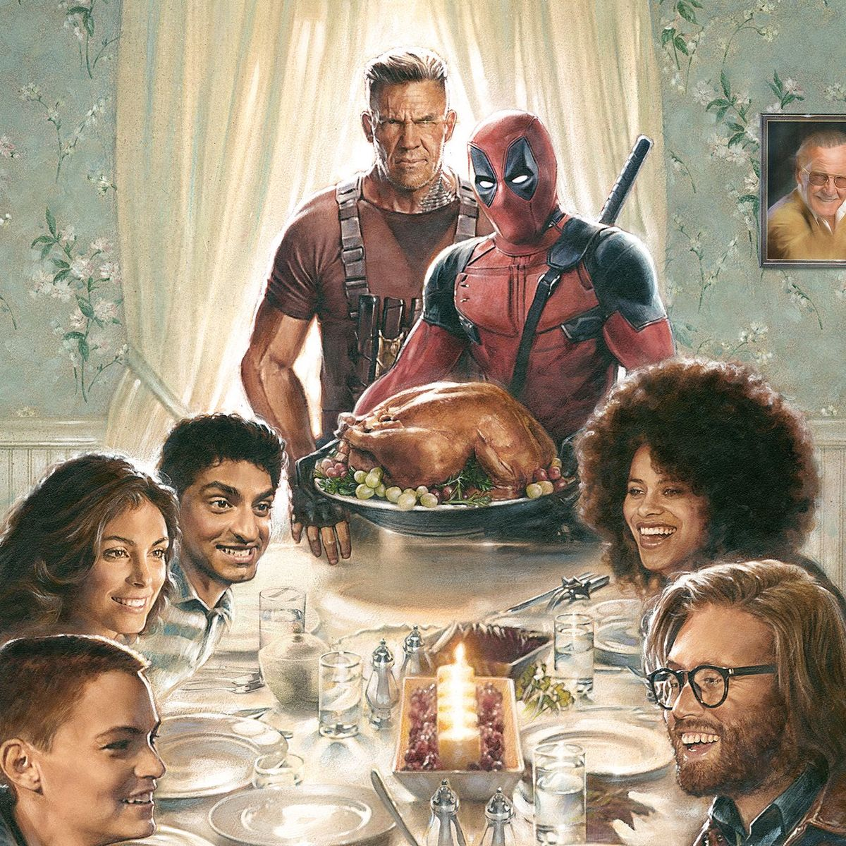 First Deadpool 2 poster brings us home for the holidays | SYFY WIRE