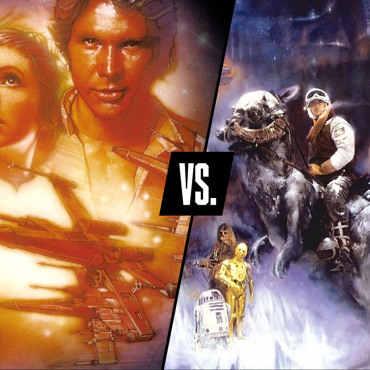 Star Wars vs Empire Strikes Back