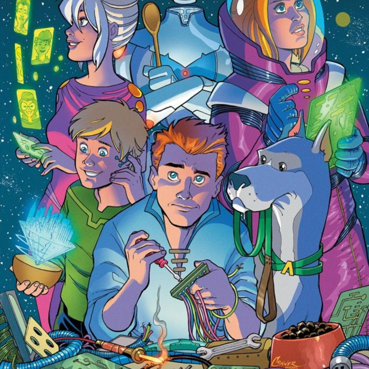 DC\'s new Jetsons comic explains cloud cities | SYFY WIRE
