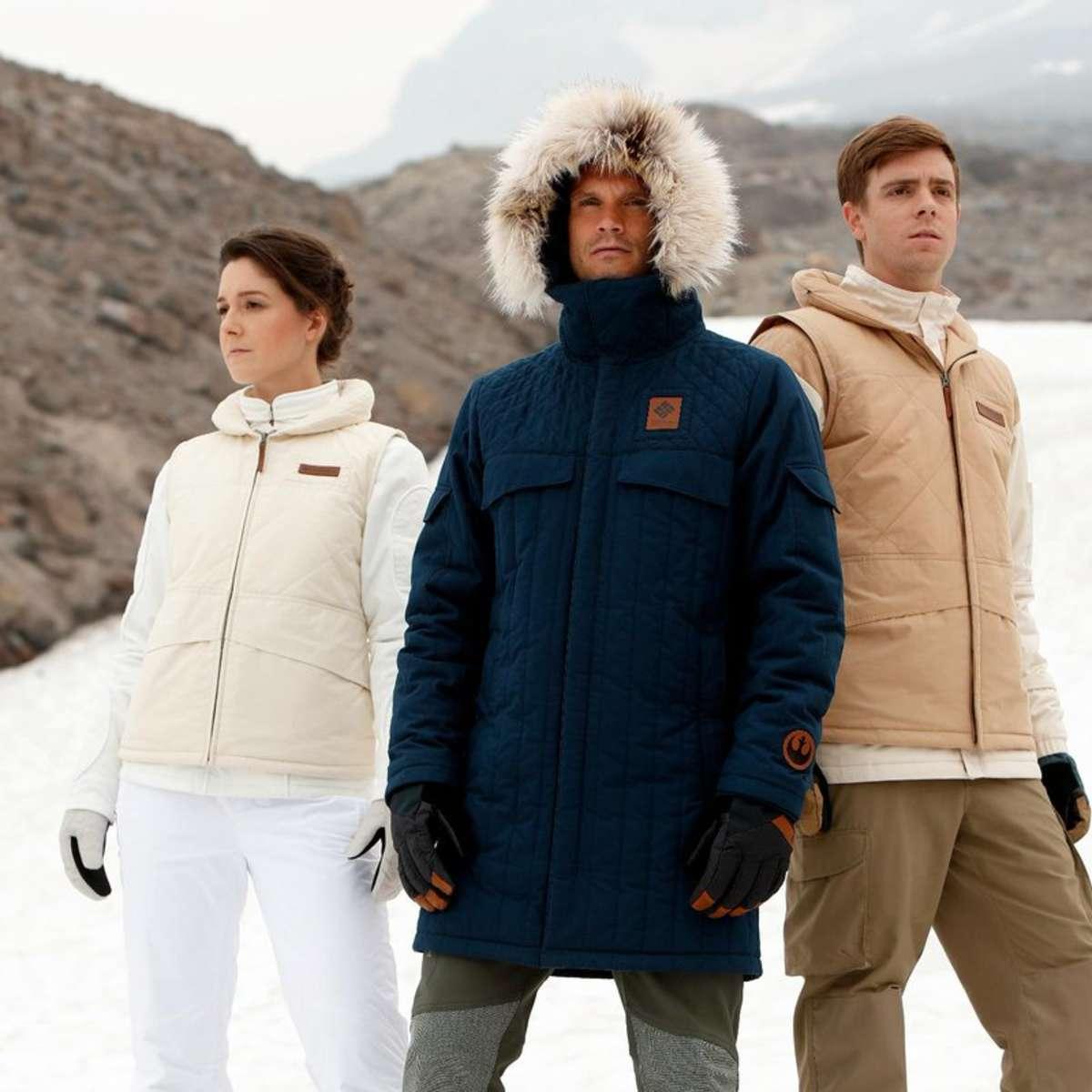 columbia star wars jackets