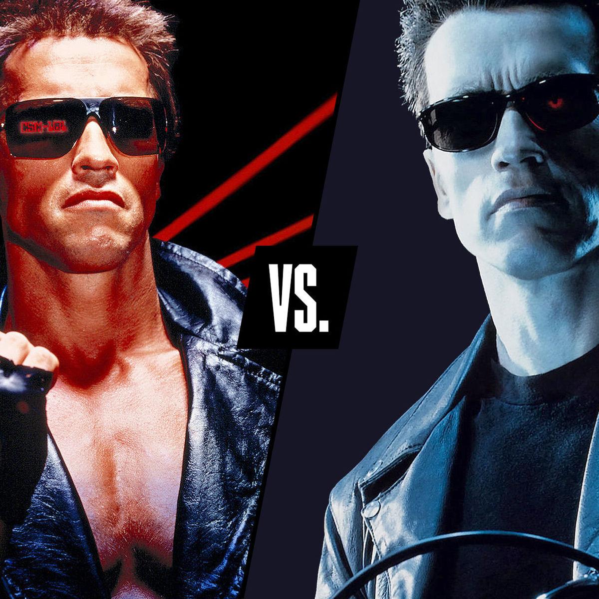 Terminator vs Terminator 2