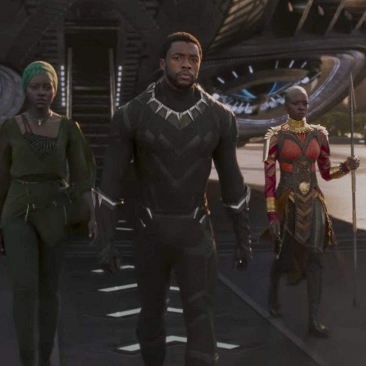Black Panther Chadwick Boseman