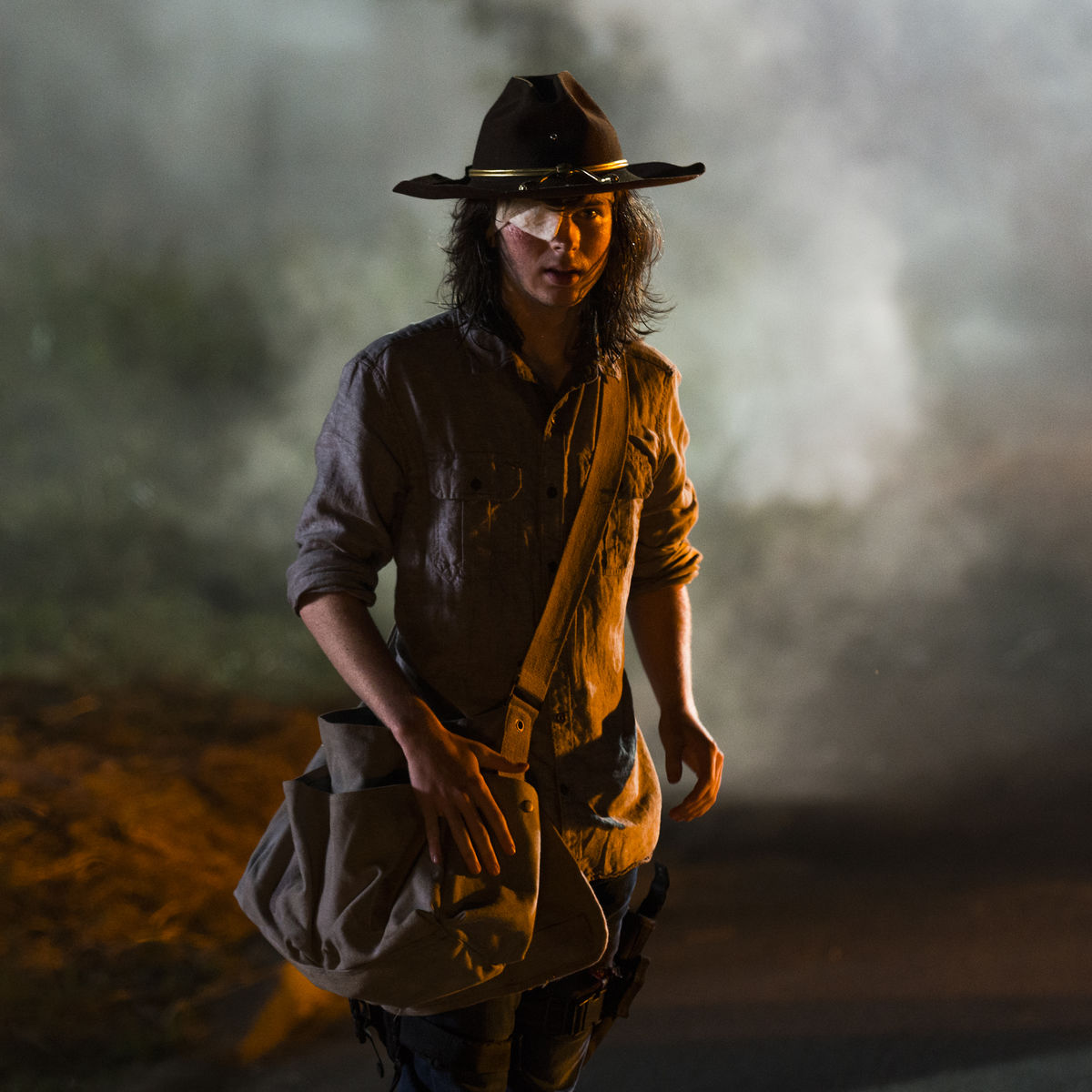 Chandler Riggs The Walking Dead Episode 808