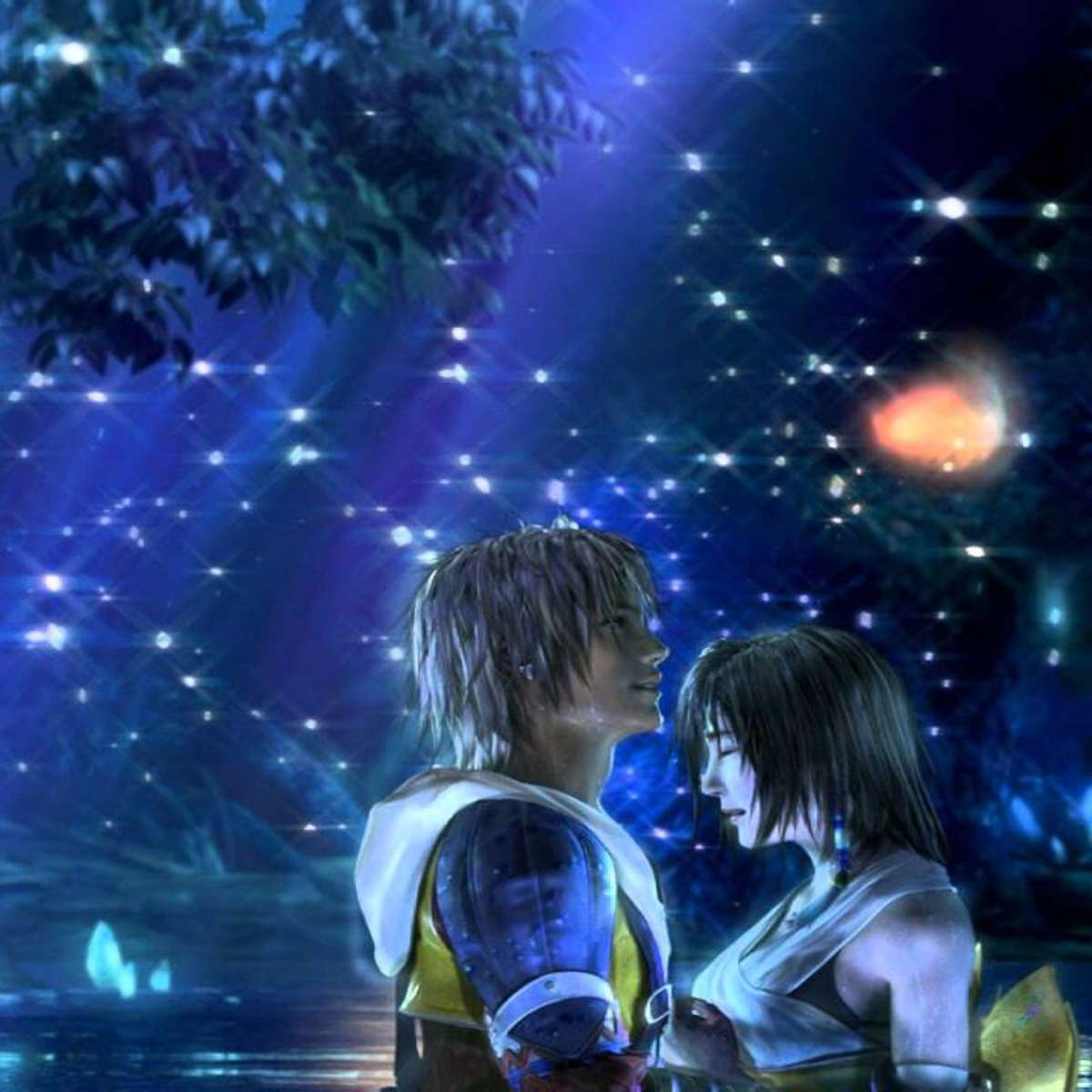 Final Fantasy X - Tidus and Yuna