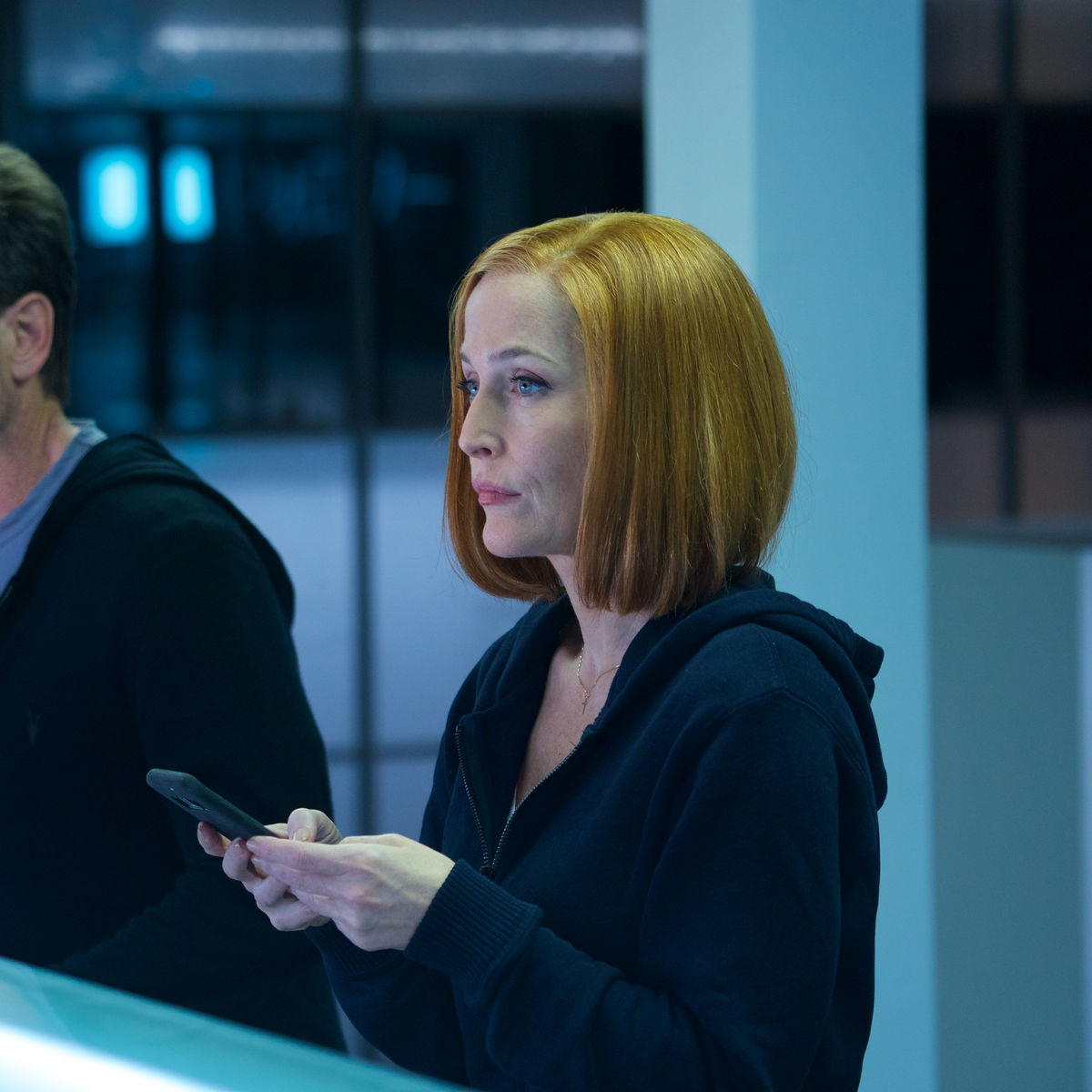 X-Files episode 1107 - Mulder and Scully on a sushi date