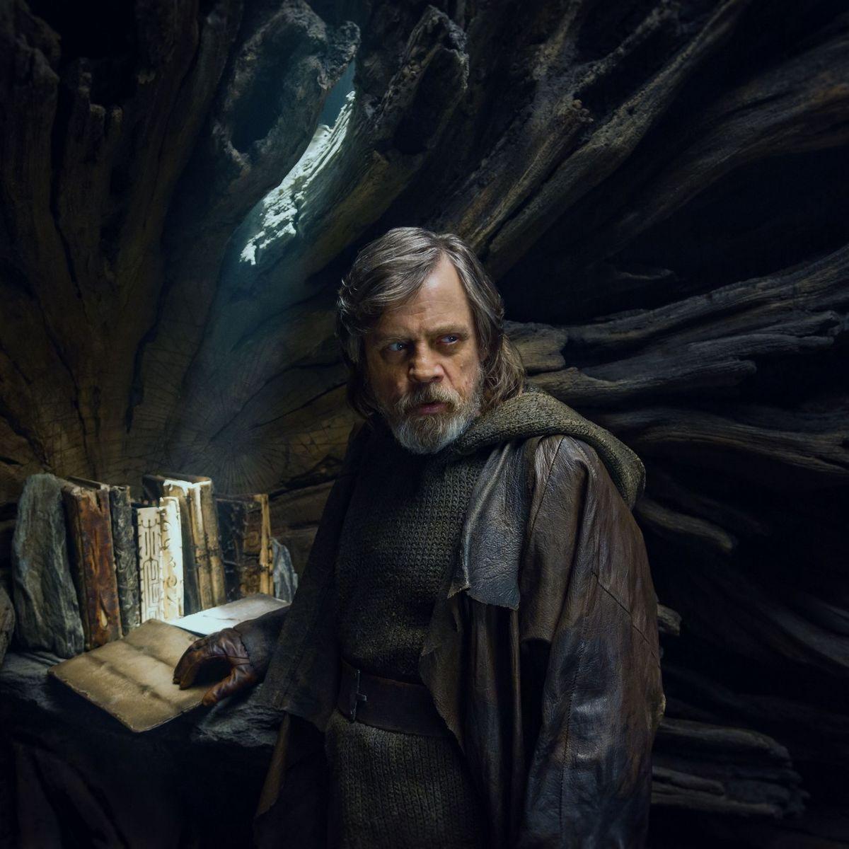 Star Wars The Last Jedi, Luke Skywalker