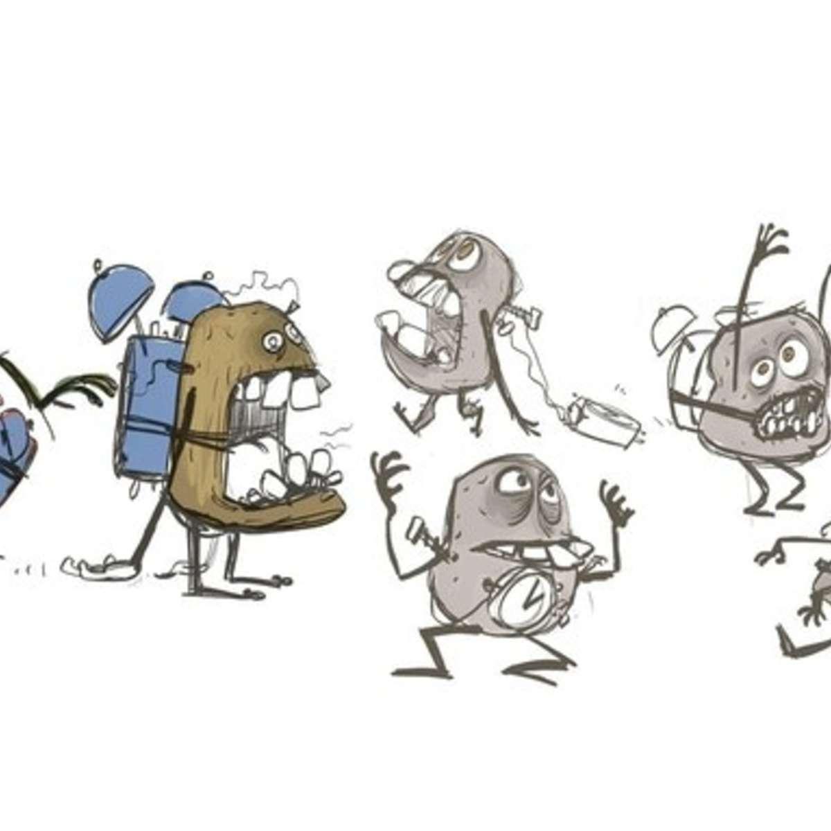 Crowdfunding Creators: Attack of the Potato Clock