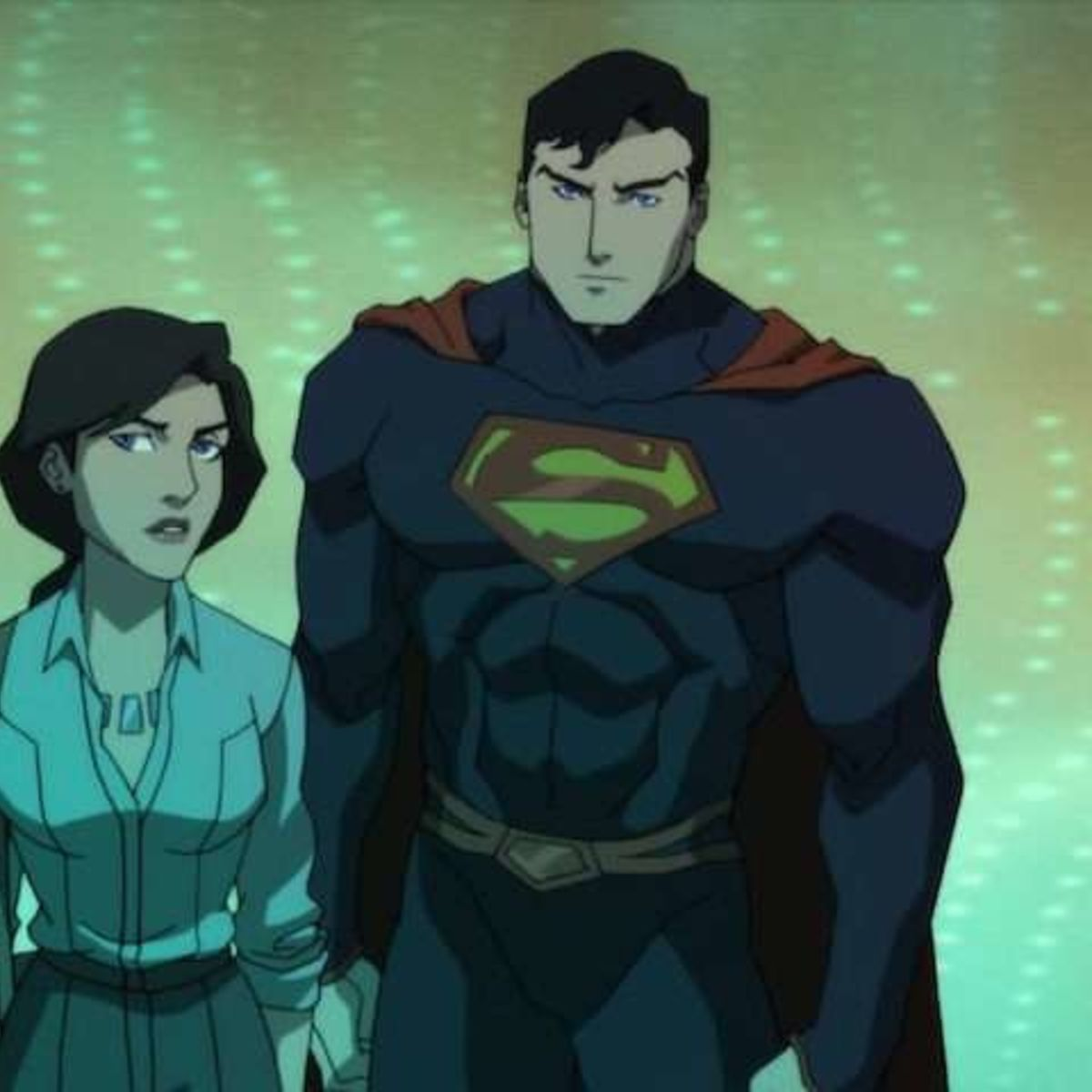 Lois Lane and Superman inThe Death of Superman