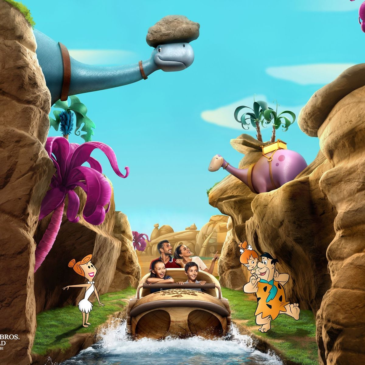 Flinstones' Bedrock River Adventure