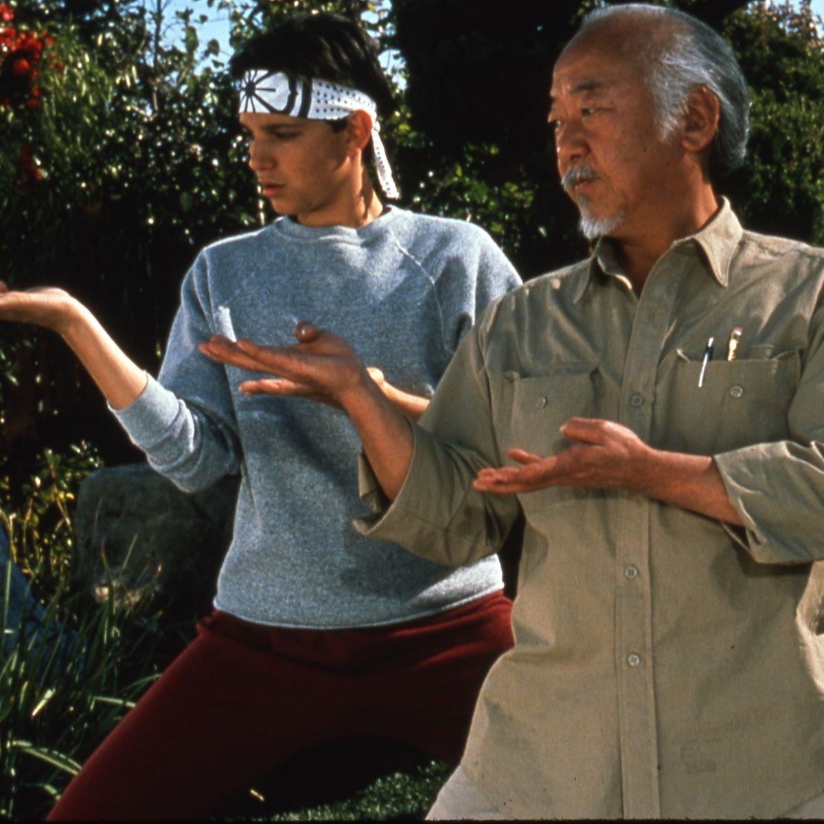 the karate kid original ralph macchio pat_morita