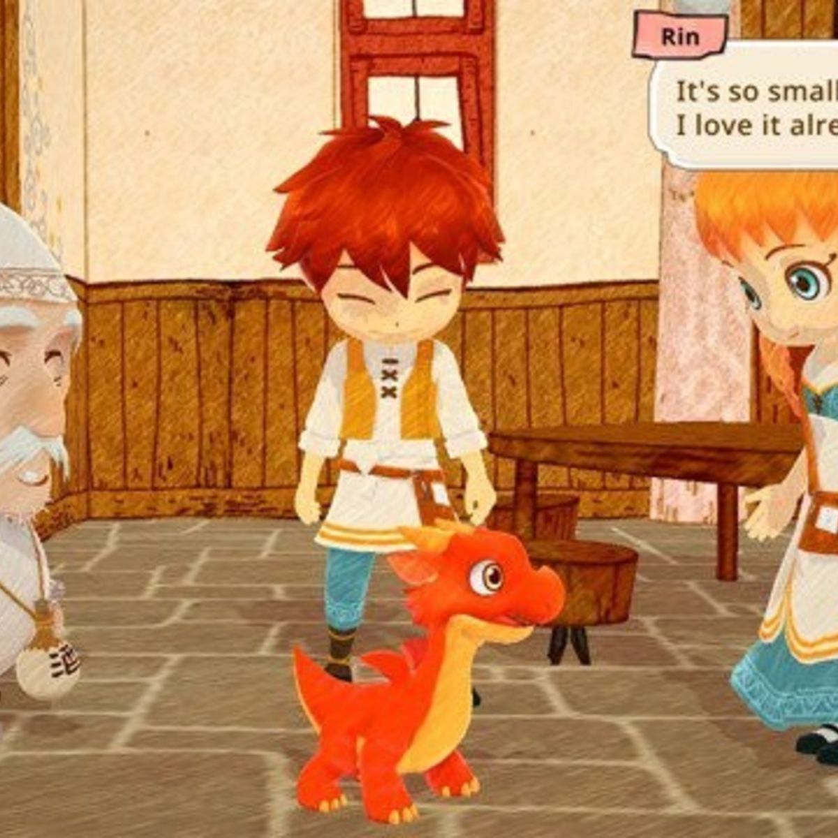 Little Dragons Cafe - First Screenshot