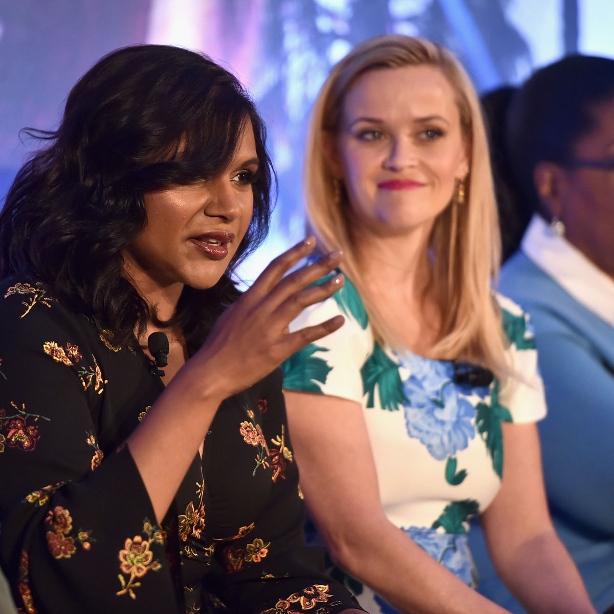 Mindy Paling, A Wrinkle in Time Press Conference LA